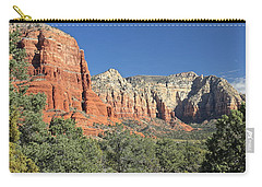 Carry-all Pouch featuring the photograph Colors Of Sedona by Penny Meyers