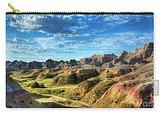 Colors Of The Badlands Carry-all Pouch