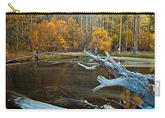 Carry-all Pouch featuring the photograph Colors Of The Forest by Jonathan Nguyen