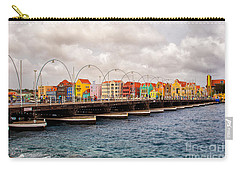 Colors Of Willemstad Curacao And The Foot Bridge To The City Carry-all Pouch
