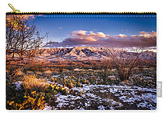 Colors Of Winter Carry-all Pouch by Mark Myhaver