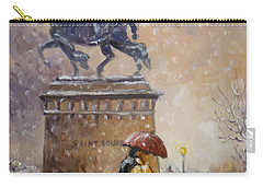 Colors Of Winter - Saint Louis Carry-all Pouch