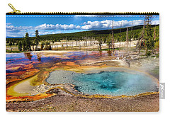 Colors Of Yellowstone National Park Carry-all Pouch