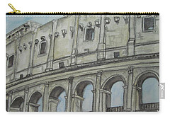 Colosseum Rome Italy Carry-all Pouch
