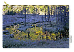 Carry-all Pouch featuring the photograph Colour Palette by Jeremy Rhoades