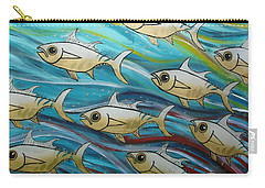 Coloured Water Fish Carry-all Pouch
