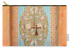 Colourful Moroccan Entrance Door Sale Rabat Morocco Carry-all Pouch