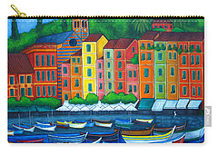Colours Of Portofino Carry-all Pouch
