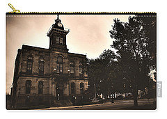 Carry-all Pouch featuring the photograph Columbiana County Courthouse by Michelle Joseph-Long