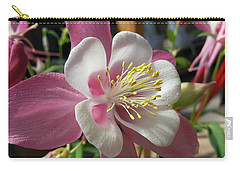 Carry-all Pouch featuring the photograph Columbine by Caryl J Bohn