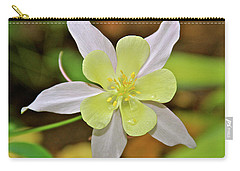 Columbine Charlie's Garden Carry-all Pouch by Ed  Riche