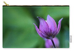 Columbine Flower Bud Carry-all Pouch
