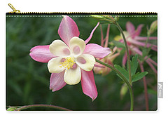 Carry-all Pouch featuring the photograph Columbine by Kathryn Meyer