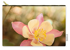 Carry-all Pouch featuring the photograph Columbine by Roselynne Broussard