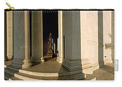 Columns Of A Memorial, Jefferson Carry-all Pouch by Panoramic Images
