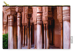 Columns Of The Court Of The Lions - Painting Carry-all Pouch