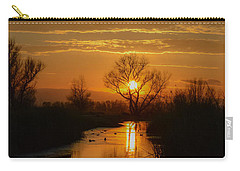 Colusa Wildlife Refuge Sunset Carry-all Pouch