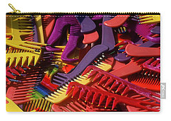 Carry-all Pouch featuring the photograph Combs by Rodney Lee Williams