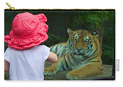 Carry-all Pouch featuring the photograph Come A Little Closer by Dave Files