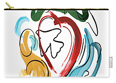 Carry-all Pouch featuring the painting Come Into My Heart by Anthony Falbo
