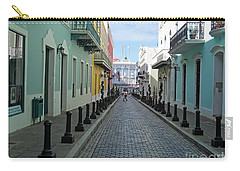 Carry-all Pouch featuring the photograph San Juan Puerto Rico by Roberta Byram