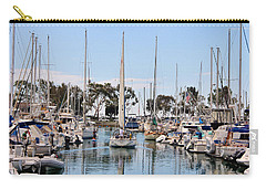 Come Sail Away Carry-all Pouch by Tammy Espino