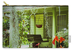 Come Sit Awhile Carry-all Pouch by Patricia Greer