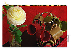 Carry-all Pouch featuring the photograph Comfort Zone by Rodney Lee Williams