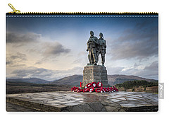 Commando Memorial At Spean Bridge Carry-all Pouch
