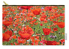 Commemorative Poppies Carry-all Pouch