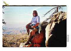Carry-all Pouch featuring the photograph Commission Free - Crickets by Benjamin Yeager
