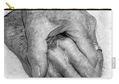 Carry-all Pouch featuring the photograph Commitment by Roselynne Broussard