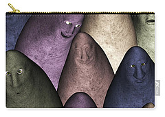 Carry-all Pouch featuring the digital art Community by Gabiw Art