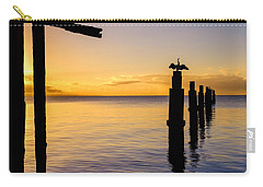 Comorant Greets The Sun Carry-all Pouch