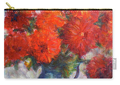 Complementary - Original Impressionist Painting - Still-life - Vibrant - Contemporary Carry-all Pouch
