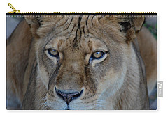 Concerned Lioness Carry-all Pouch