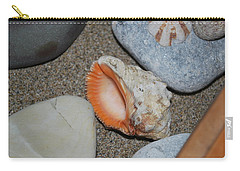 Carry-all Pouch featuring the photograph Conch 1 by George Katechis