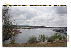 Carry-all Pouch featuring the photograph Conchas Dam by Sheri Keith
