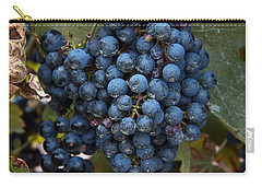 Concord Grapes Carry-all Pouch by Leeon Pezok