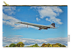 Concorde On Finals Carry-all Pouch