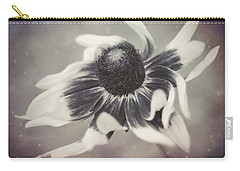 Coneflower In Monochrome Carry-all Pouch