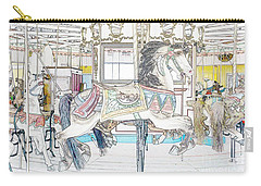 Coney Island Carousel Carry-all Pouch