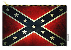Confederate Flag 4 Carry-all Pouch