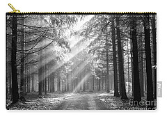 Coniferous Forest In Early Morning Carry-all Pouch