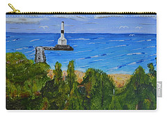 Summer, Conneaut Ohio Lighthouse Carry-all Pouch