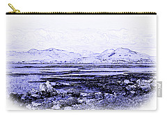 Carry-all Pouch featuring the photograph Connemara Shore by Jane McIlroy