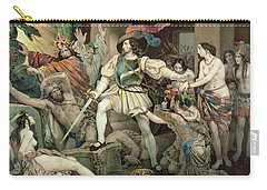 Conquest Of Mexico Hernando Cortes Carry-all Pouch
