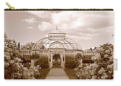 Conservatory- Sepia Carry-all Pouch