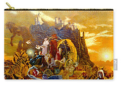 Carry-all Pouch featuring the painting Constructors Of Time by Henryk Gorecki
