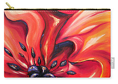 Consuming Fire Carry-all Pouch by Meaghan Troup